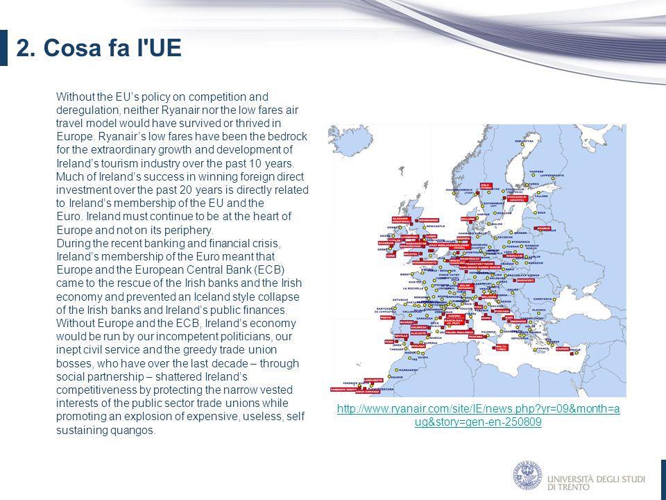 2. Cosa fa l UE