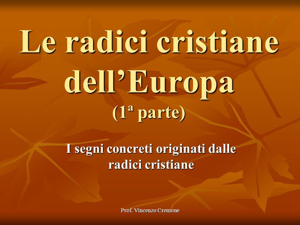 Le radici cristiane dell'Europa (1ª parte)
