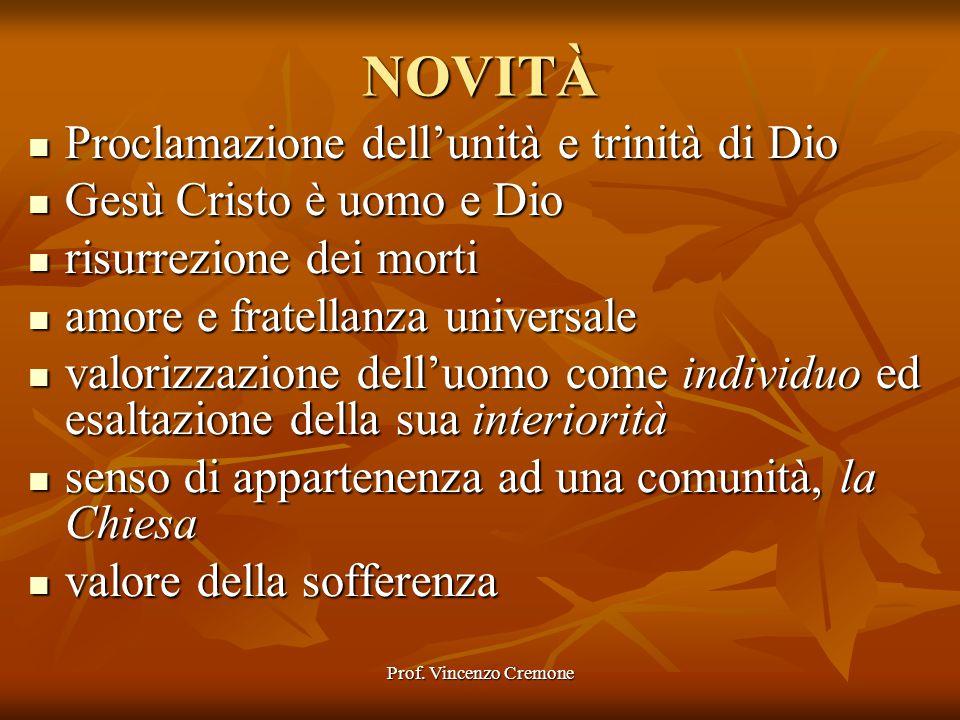 NOVITÀ Proclamazione dell'unità e trinità di Dio