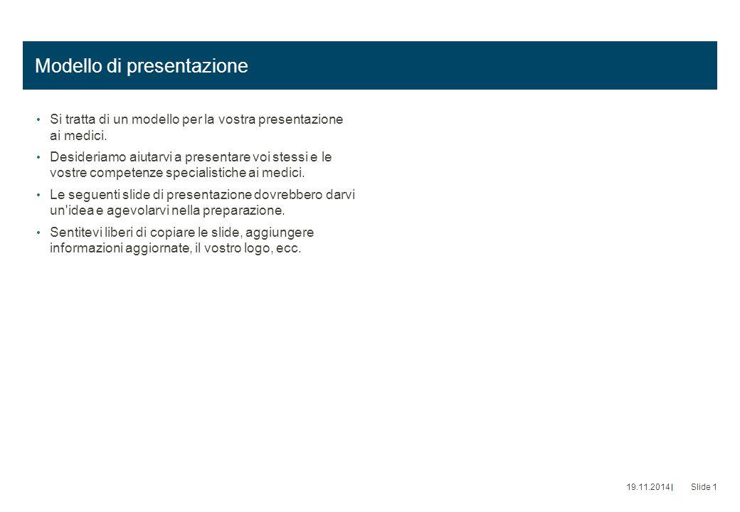 Modello di presentazione