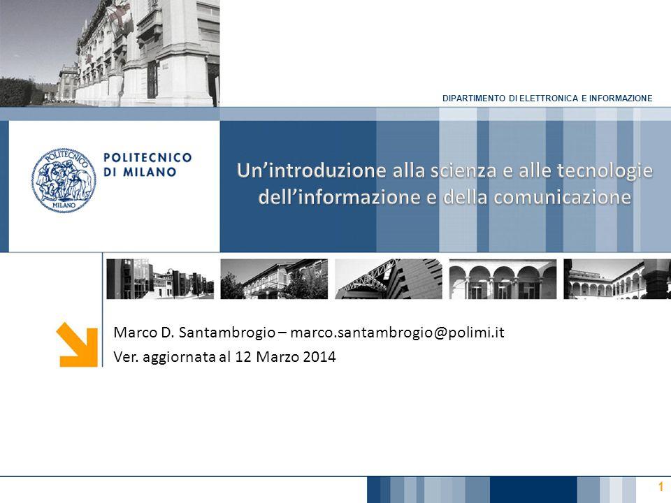 Mari, Buonanno, Sciuto – Informatica e cultura dell'informazione – McGraw-Hill