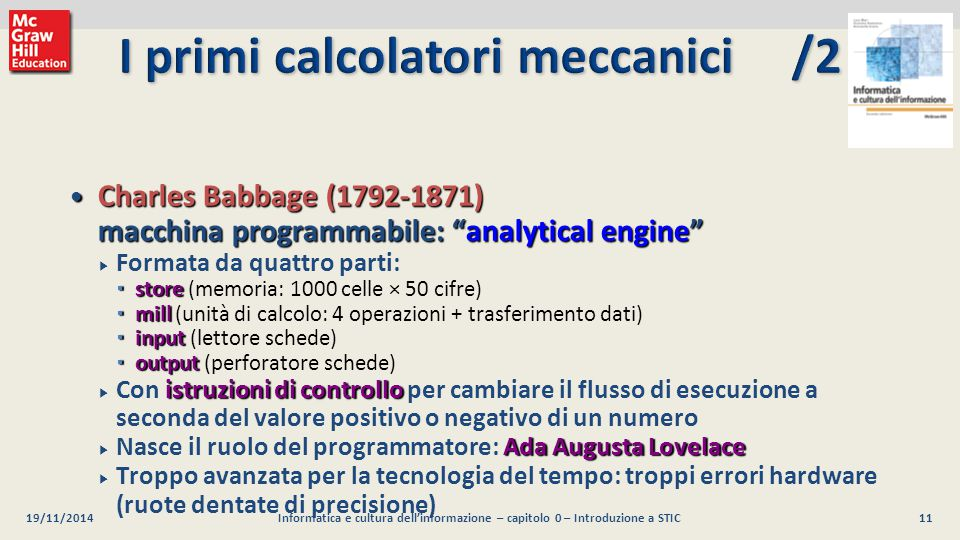 I primi calcolatori meccanici /2