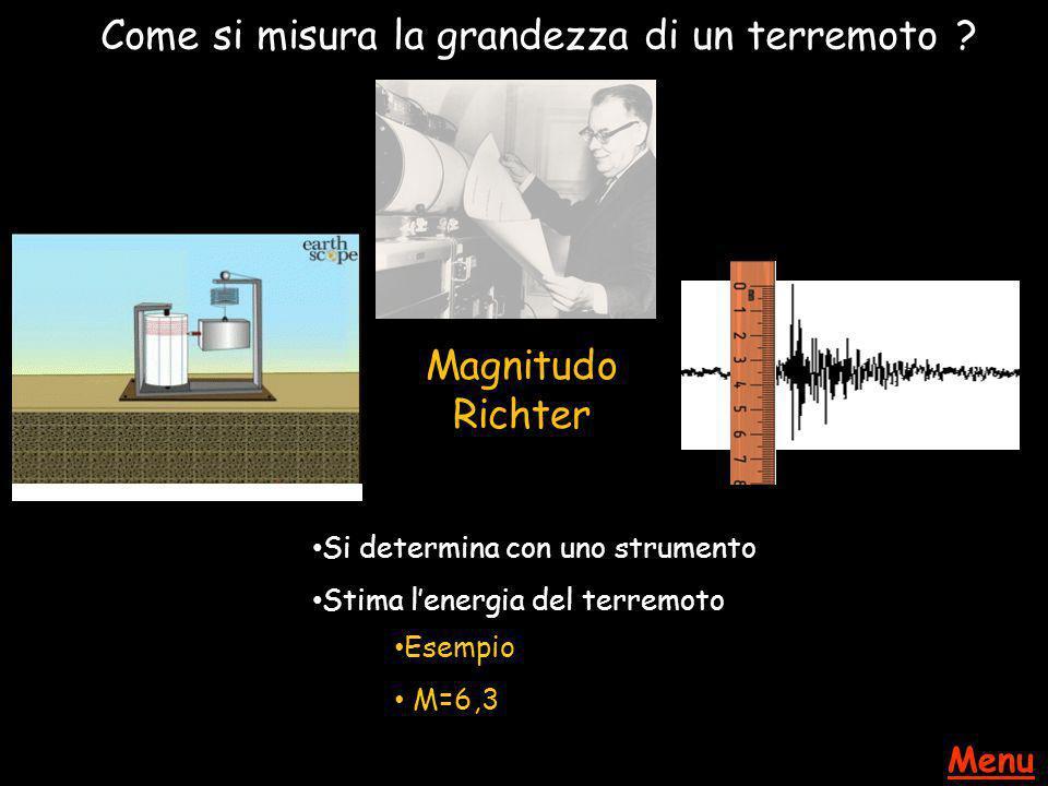 Come si misura la grandezza di un terremoto