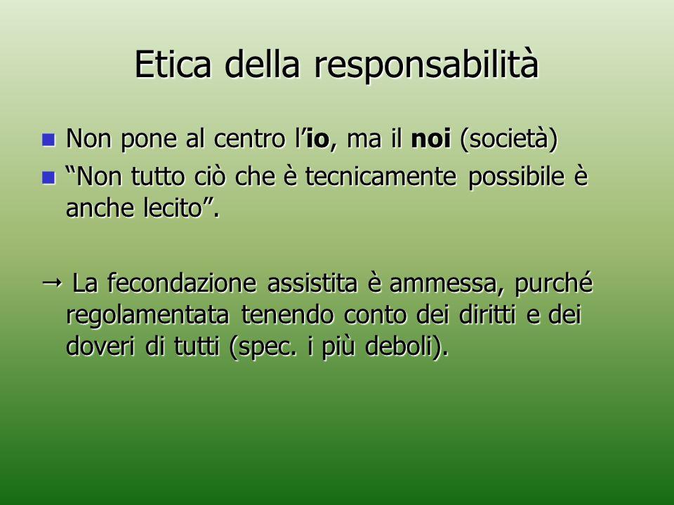Etica della responsabilità