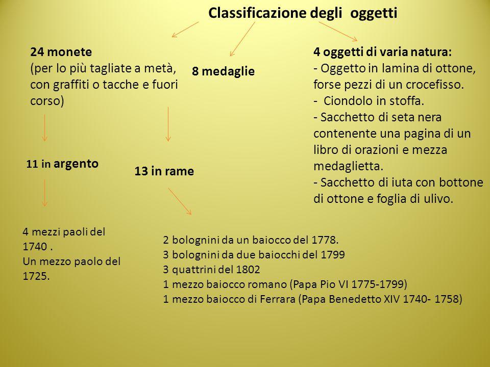 Classificazione degli oggetti