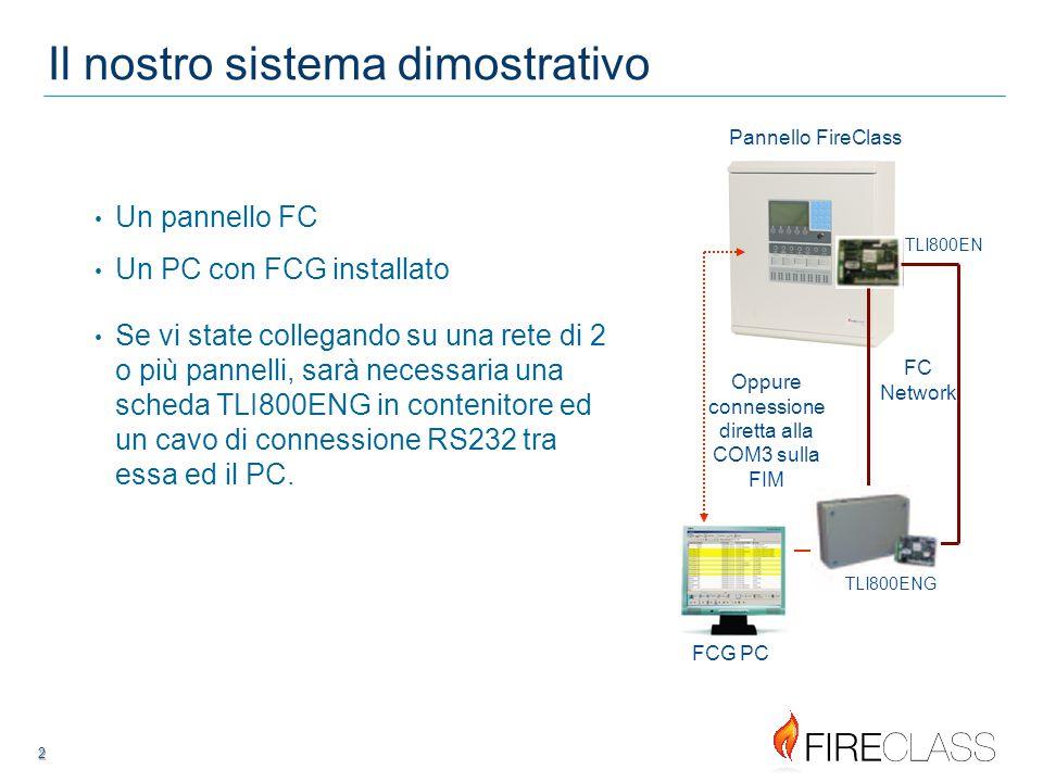 Oppure connessione diretta alla COM3 sulla FIM