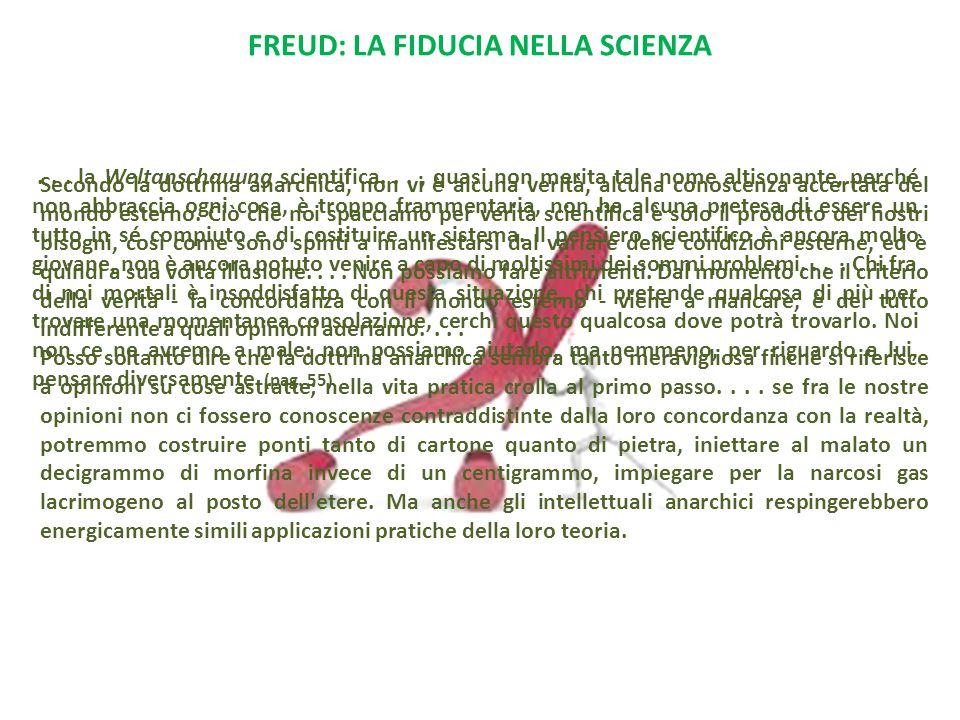 Freud: la fiducia nella scienza