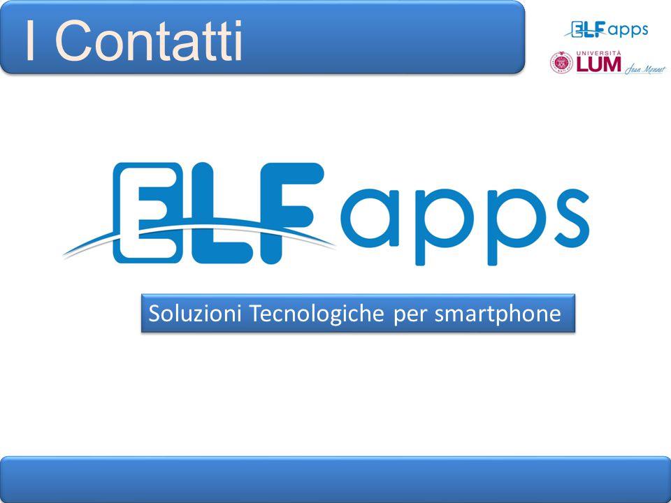 I Contatti Soluzioni Tecnologiche per smartphone