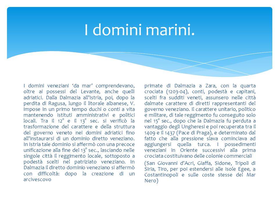I domini marini.