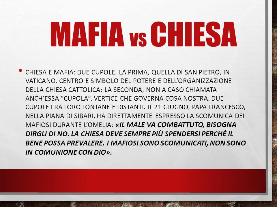 Mafia vs chiesa