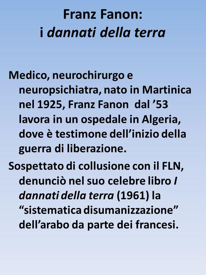 Franz Fanon: i dannati della terra