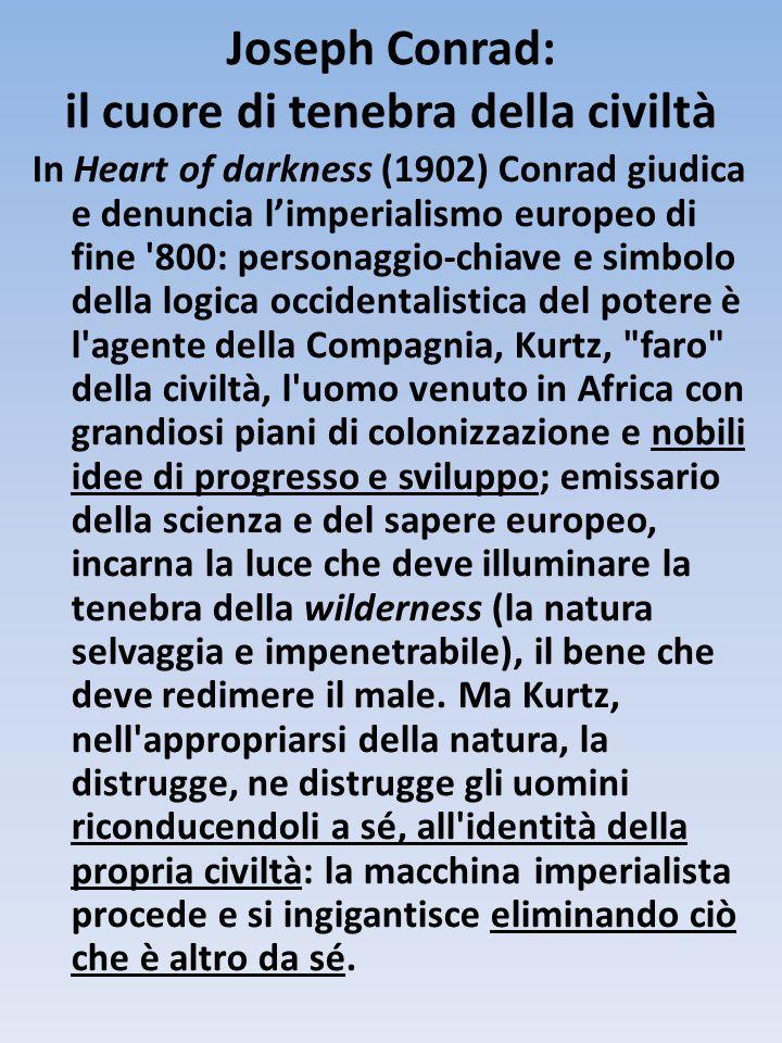Joseph Conrad: il cuore di tenebra della civiltà