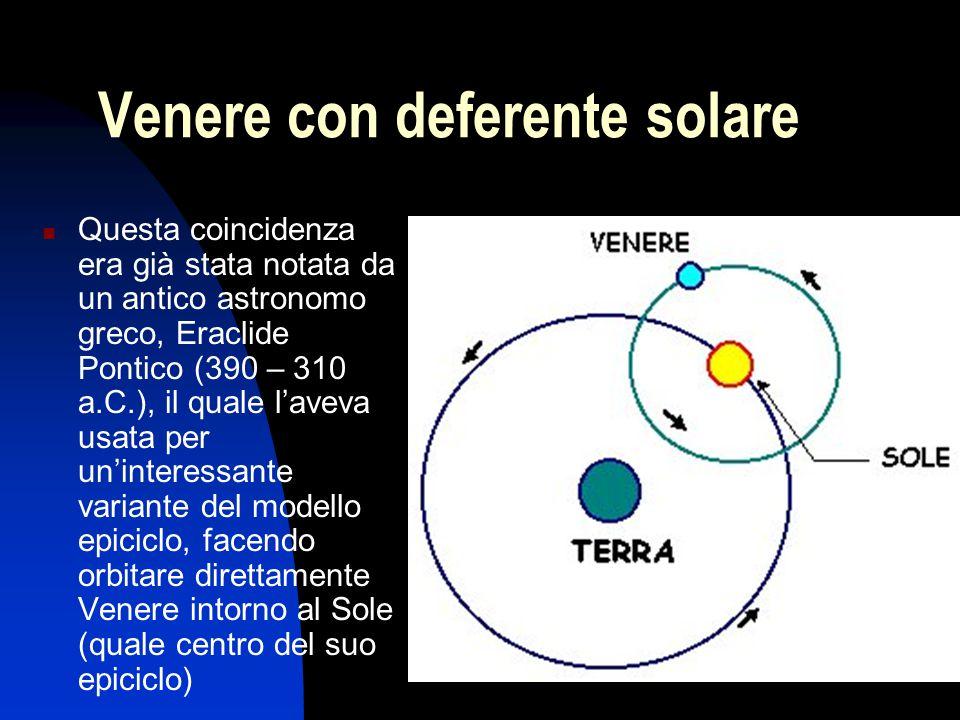 Venere con deferente solare