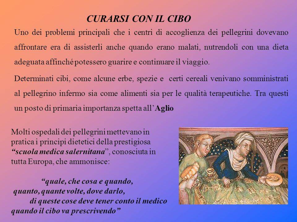 CURARSI CON IL CIBO