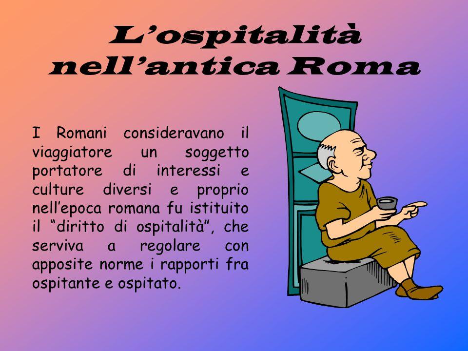 L'ospitalità nell'antica Roma