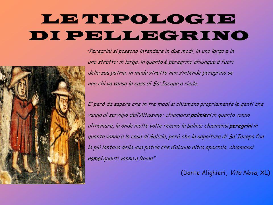LE TIPOLOGIE DI PELLEGRINO