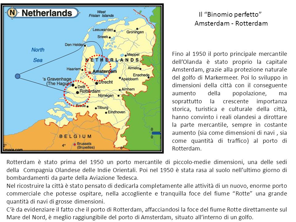 Il Binomio perfetto Amsterdam - Rotterdam