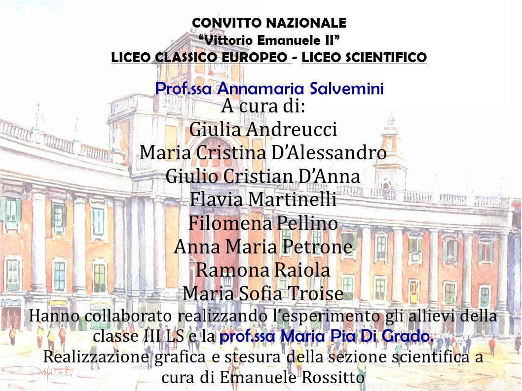 Maria Cristina D'Alessandro Giulio Cristian D'Anna Flavia Martinelli