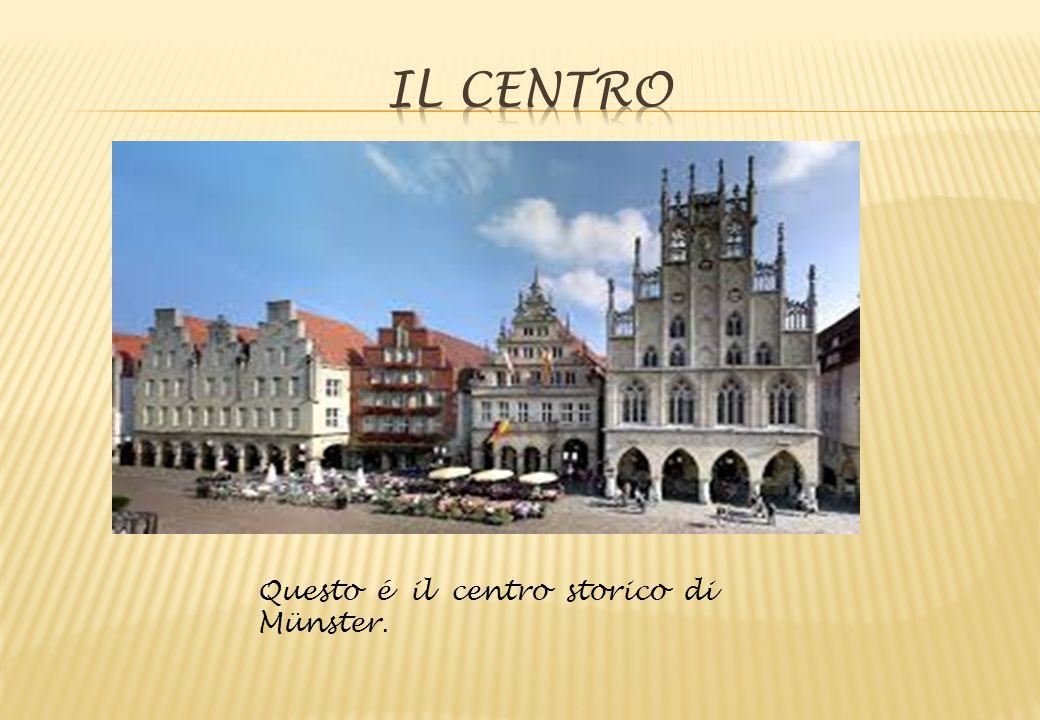 Il Centro Questo é il centro storico di Münster.