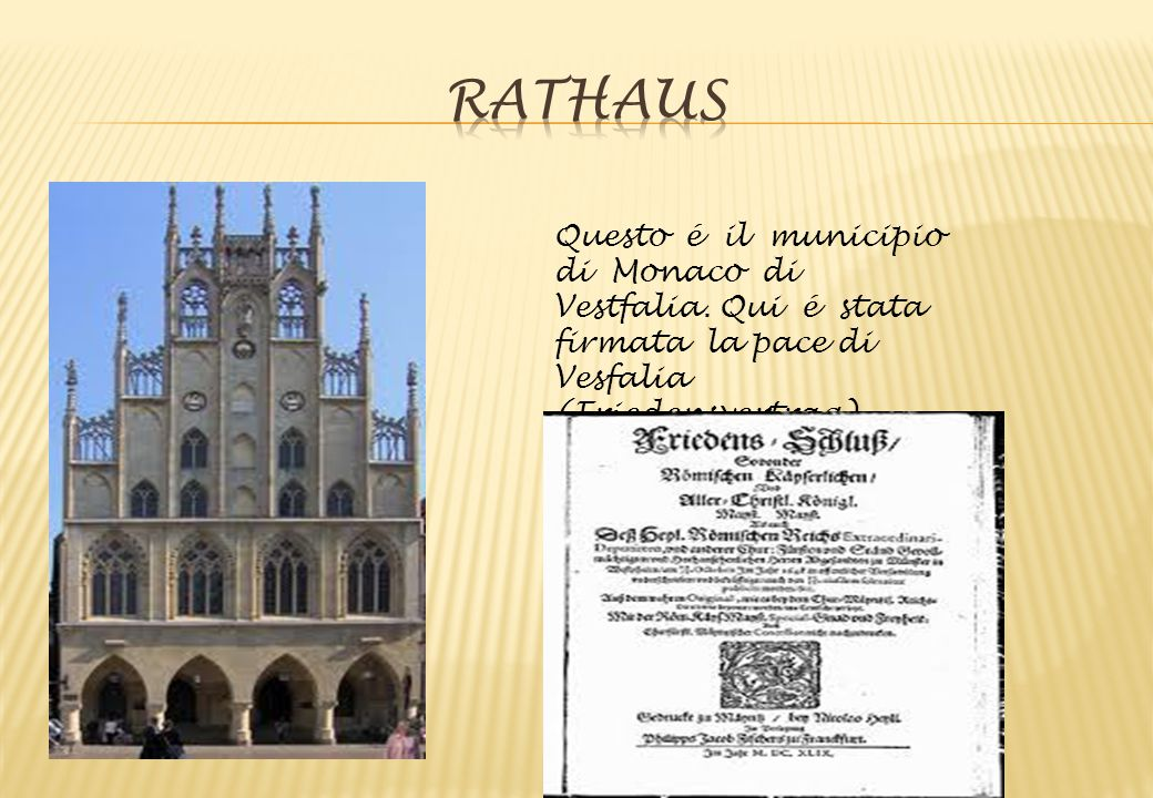 Rathaus Questo é il municipio di Monaco di Vestfalia.