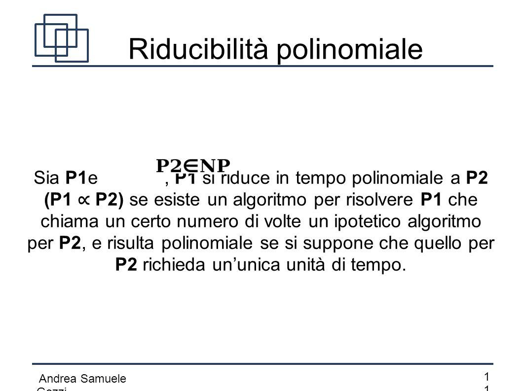 Riducibilità polinomiale