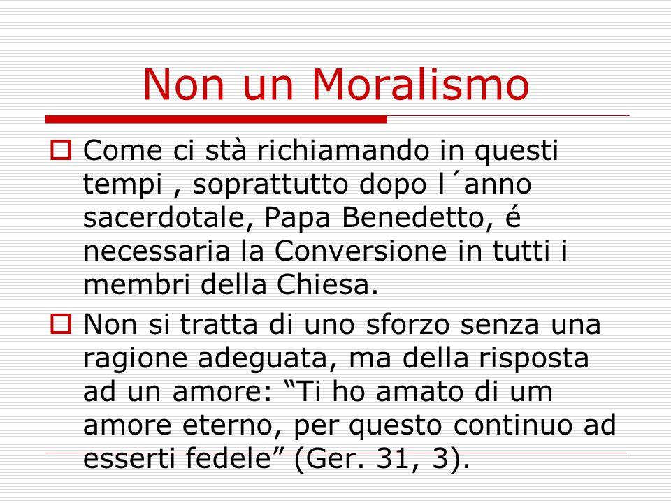 Non un Moralismo