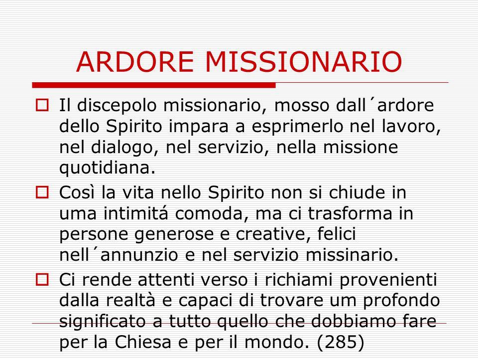 ARDORE MISSIONARIO