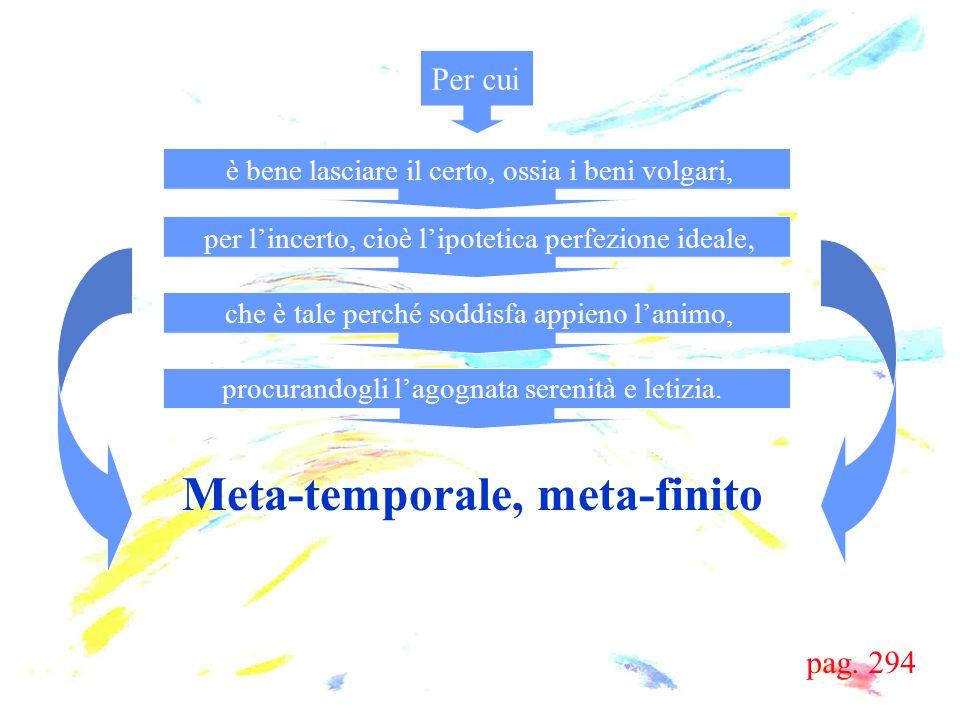 Meta-temporale, meta-finito