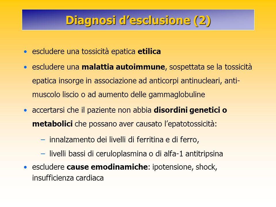 Diagnosi d'esclusione (2)