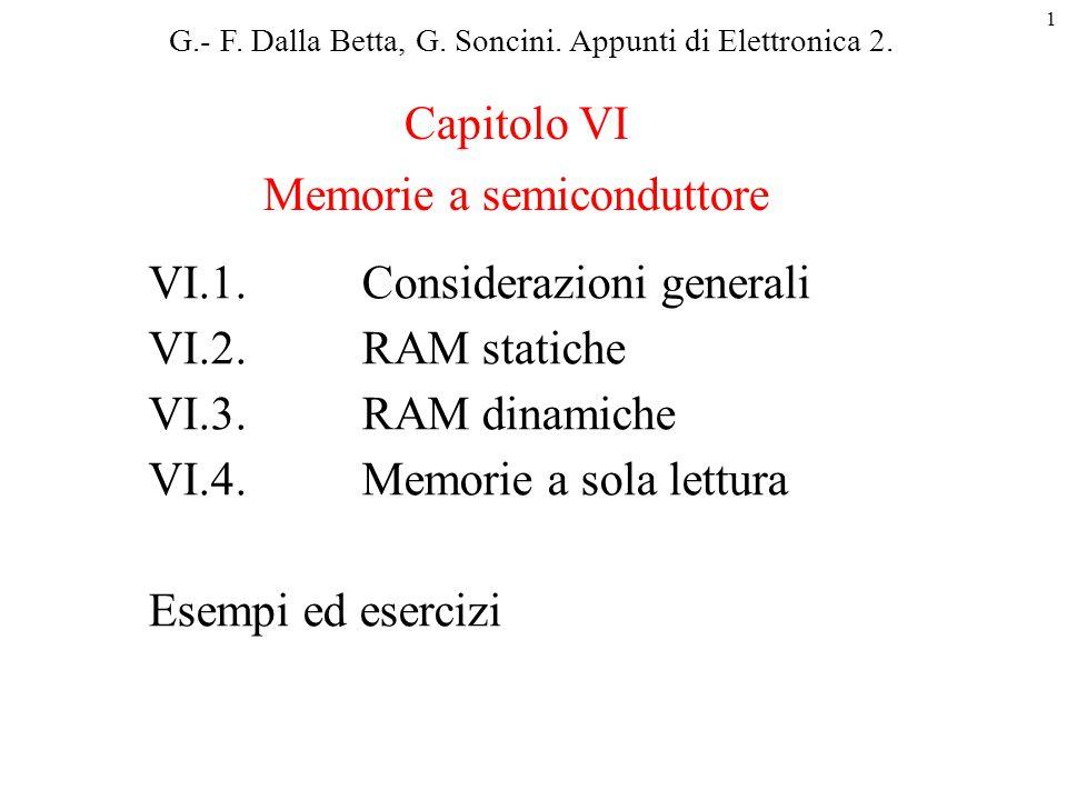 Memorie a semiconduttore