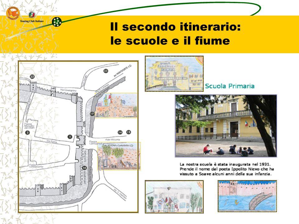 Il secondo itinerario: le scuole e il fiume
