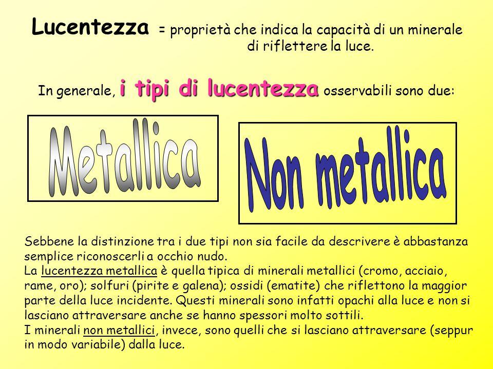 Metallica Non metallica
