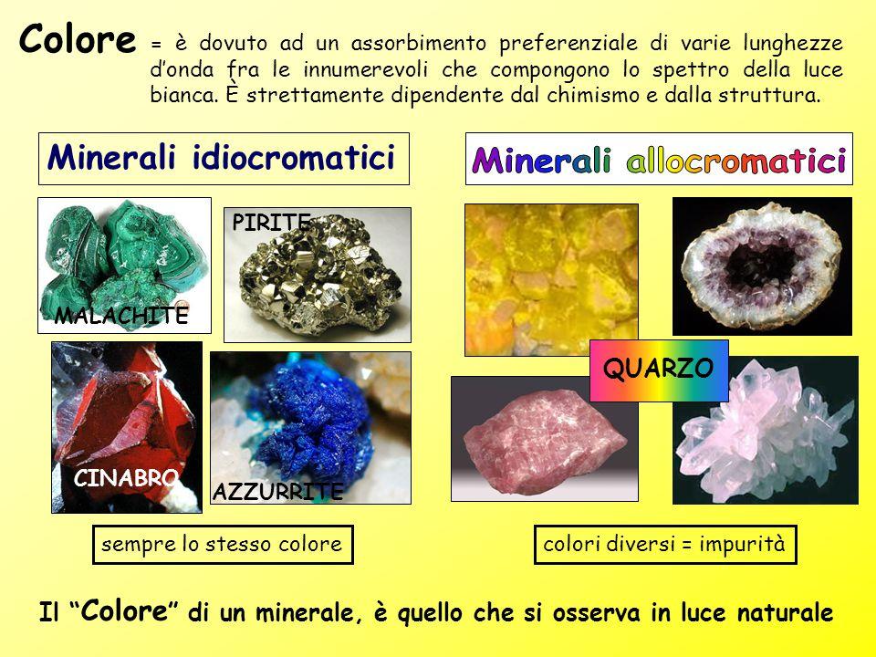Minerali allocromatici