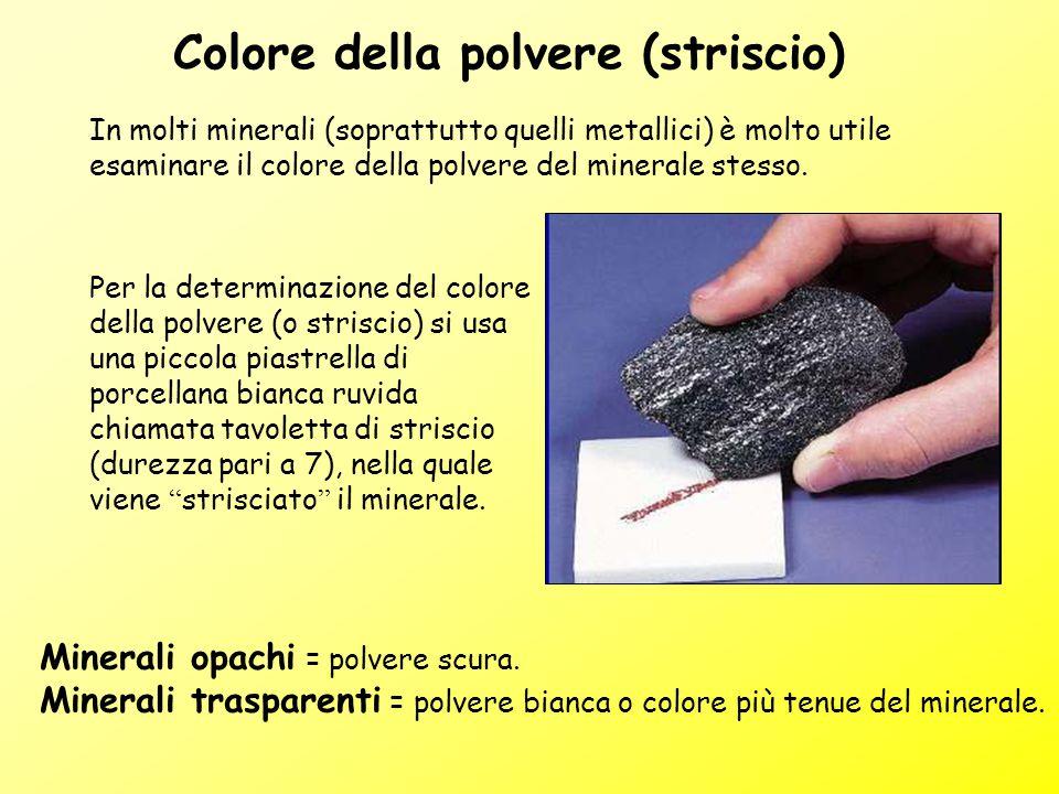 Colore della polvere (striscio)