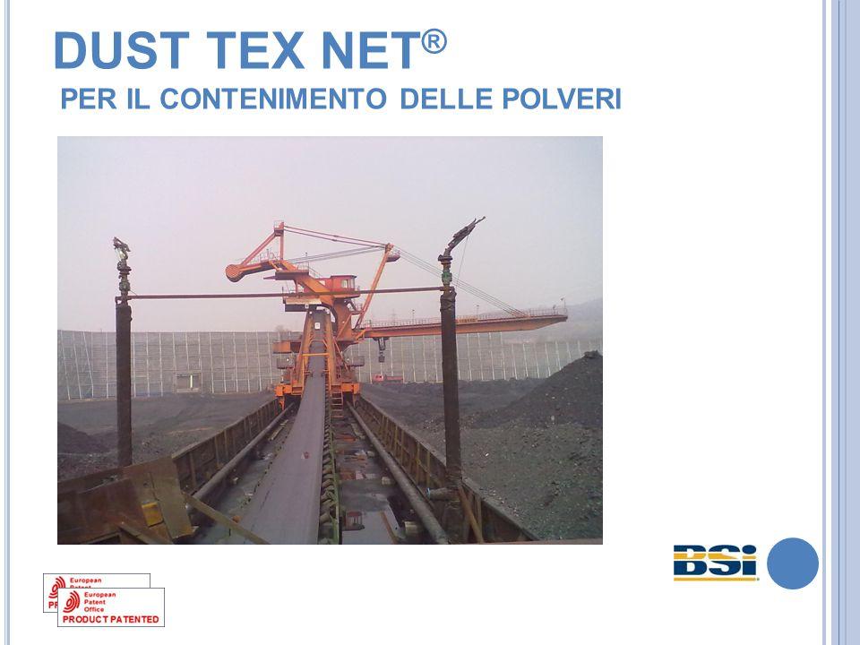 DUST TEX NET® PER IL CONTENIMENTO DELLE POLVERI