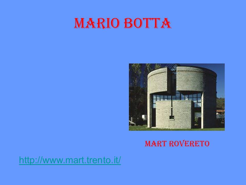 mario BOTTA Mart rovereto http://www.mart.trento.it/
