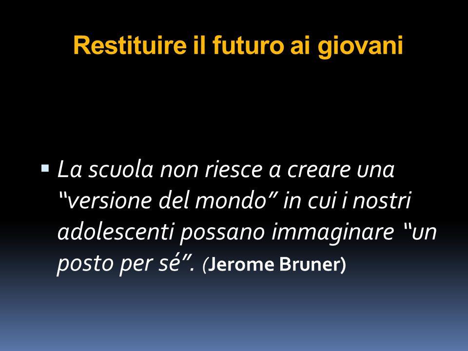 Restituire il futuro ai giovani