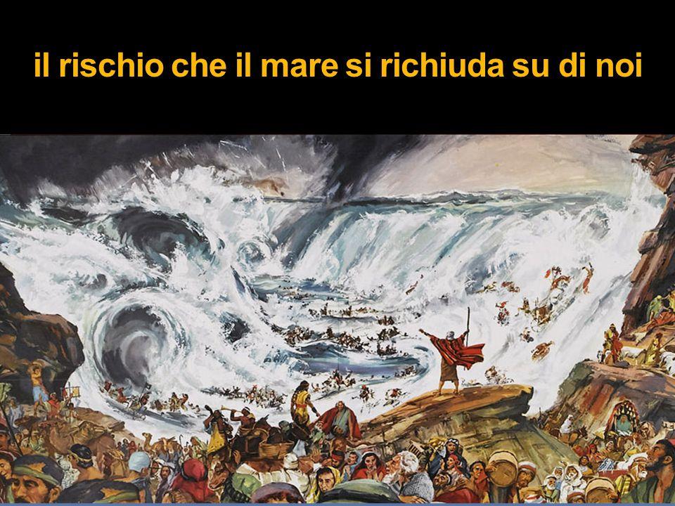 il rischio che il mare si richiuda su di noi