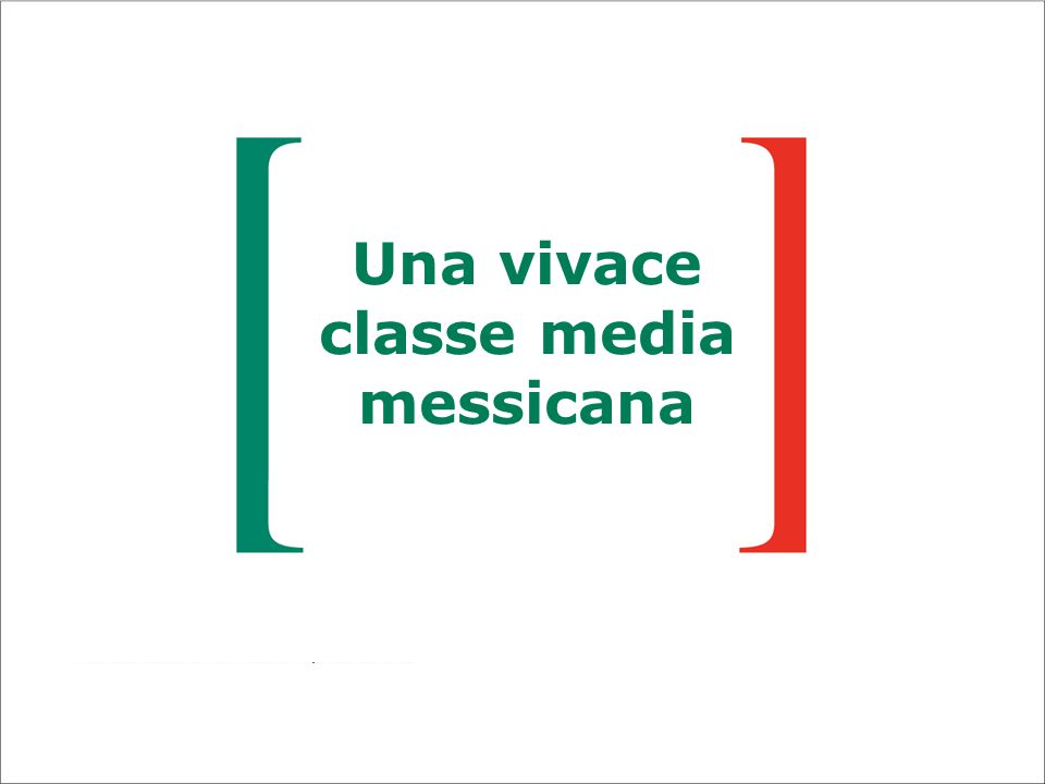 Una vivace classe media messicana