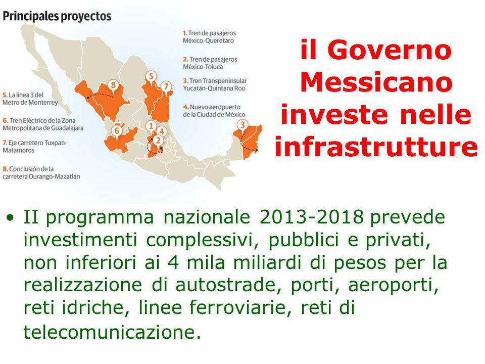 il Governo Messicano investe nelle infrastrutture