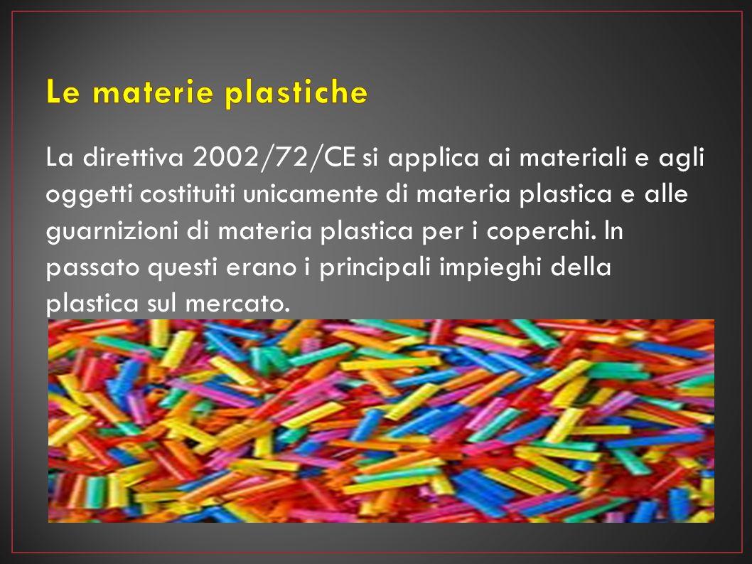 Le materie plastiche