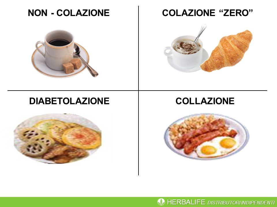 NON - COLAZIONE COLAZIONE ZERO DIABETOLAZIONE COLLAZIONE