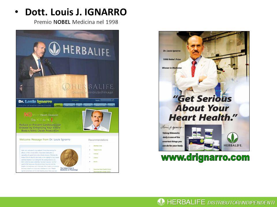Dott. Louis J. IGNARRO Premio NOBEL Medicina nel 1998
