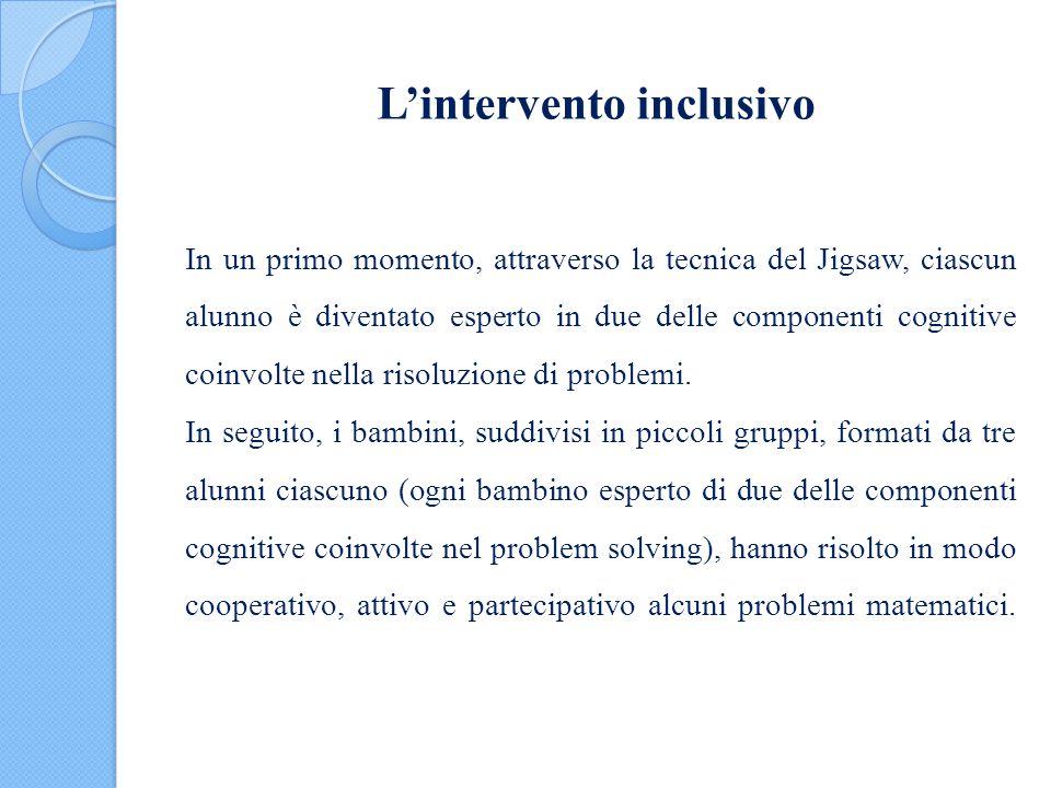 L'intervento inclusivo