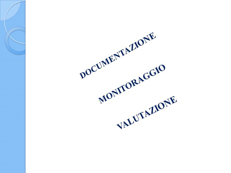 DOCUMENTAZIONE MONITORAGGIO VALUTAZIONE