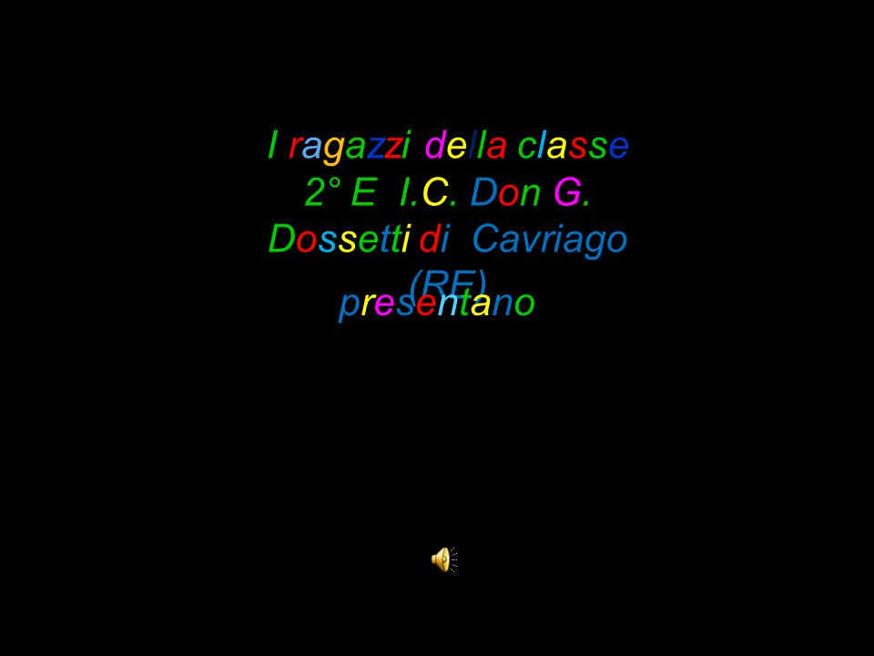 I ragazzi della classe 2° E I.C. Don G. Dossetti di Cavriago (RE)