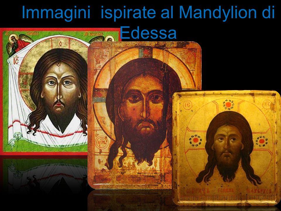 Immagini ispirate al Mandylion di Edessa