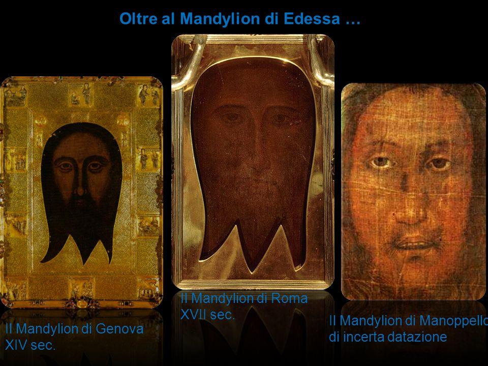 Oltre al Mandylion di Edessa …