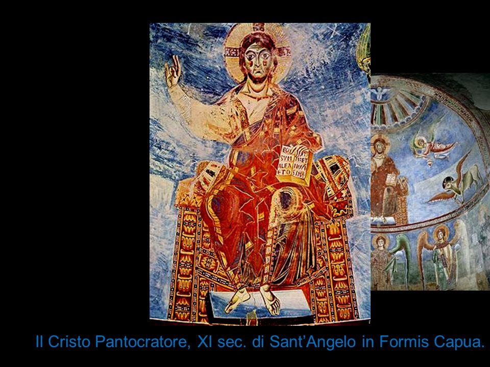 Il Cristo Pantocratore, XI sec. di Sant'Angelo in Formis Capua.