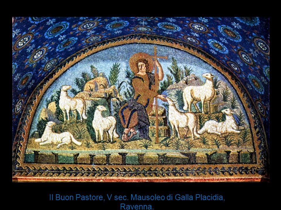 Il Buon Pastore, V sec. Mausoleo di Galla Placidia, Ravenna.